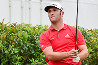 Jon Rahm (ESP) watches his tee shot on 15 during round 4 of the Dean &amp; Deluca Invitational, at The Colonial, Ft. Worth, Texas, USA. 5/28/2017.<br /> Picture: Golffile | Ken Murray<br /> <br /> <br /> All photo usage must carry mandatory copyright credit (&copy; Golffile | Ken Murray)