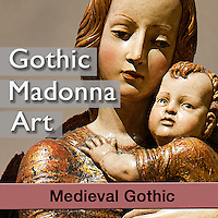 Medieval Gothic Virgin & Child Sculptures & Paintings - Pictures & Images of -