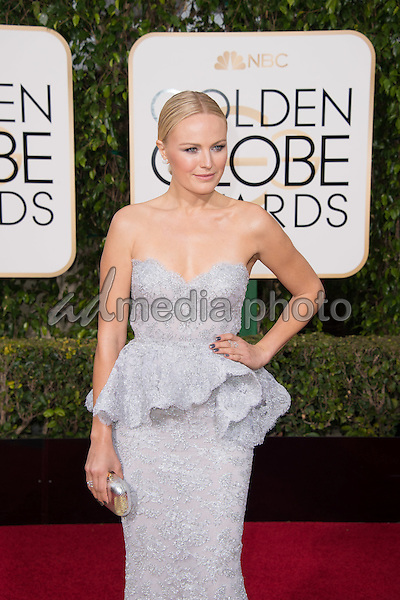 Actress Malin Akerman attends the 73rd Annual Golden Globes Awards at the Beverly Hilton in Beverly Hills, CA on Sunday, January 10, 2016. Photo Credit: HFPA/AdMedia