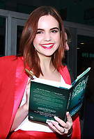 NEW YORK, NY - FEBRUARY 1: Bailee Madison at Build Series to promote the new book, Losing Brave on February 1, 2018. <br /> CAP/MPI/RW<br /> &copy;RW/MPI/Capital Pictures