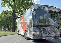 17th May 2020,Stadion An der Alten Försterei, Berlin, Germany; Bundesliga football, FC Union Berlin versus Bayern Munich;  Team bus of 1 FC Union Berlin arrives at the stadium