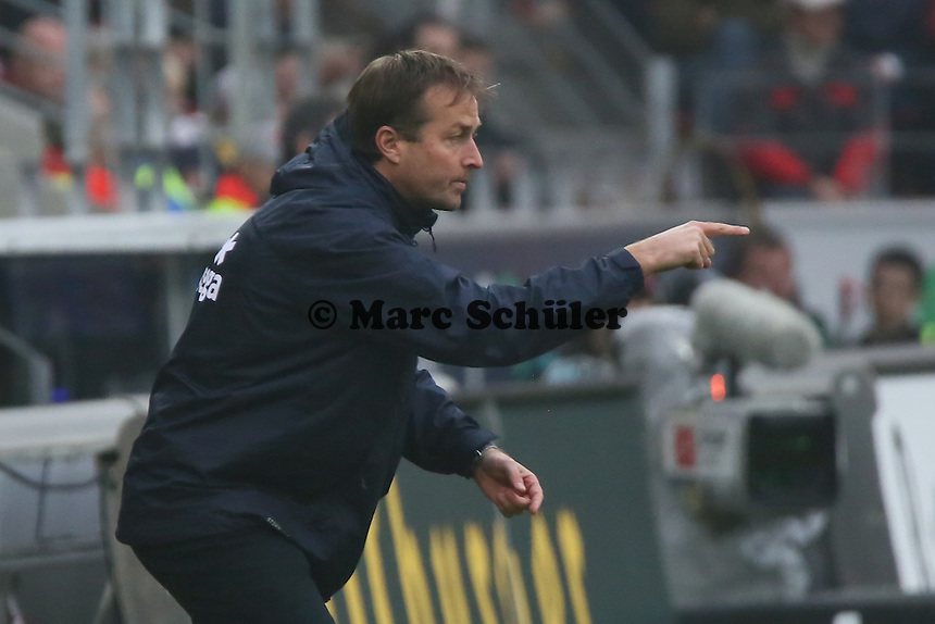 Mainzer Trainer Kaspar Hjulmand  - 1. FSV Mainz 05 vs. SV Werder Bremenl, Coface Arena