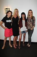 "Alicia Arden, Mary Carey, Amaya Brecher, Jessica Kinni<br /> on the set of ""Politically Naughty With Mary Carey,"" TradioV Studios, Los Angeles, CA 06-02-14<br /> David Edwards/DailyCeleb.Com 818-249-4998"