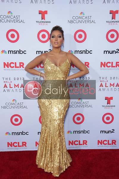 Adrienne Bailon<br /> at the 2013 NCLR ALMA Awards Arrivals, Pasadena Civic Auditorium, Pasadena, CA 09-27-13<br /> David Edwards/Dailyceleb.com 818-249-4998