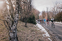 peloton<br /> <br /> 76th Paris-Nice 2018<br /> stage 5: Salon-de-Provence &gt; Sisteron (165km)