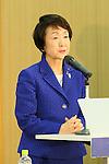 Fumiko Hayashi, FEBRUARY 8, 2016 : BOA-JOC-Yokohama-Kawasaki-Keio University MOU Signing Ceremony in Tokyo, Japan. (Photo by YUTAKA/AFLO SPORT)