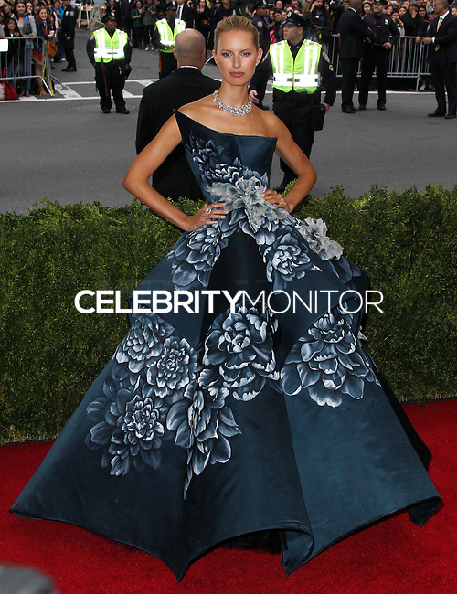 "NEW YORK CITY, NY, USA - MAY 05: Karolina Kurkova at the ""Charles James: Beyond Fashion"" Costume Institute Gala held at the Metropolitan Museum of Art on May 5, 2014 in New York City, New York, United States. (Photo by Xavier Collin/Celebrity Monitor)"