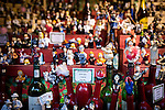 © Joel Goodman - 07973 332324 . 21 November 2013 . Manchester , UK . Display of bottle stoppers . Candid photos of the Christmas Markets in Manchester City Centre . Photo credit : Joel Goodman