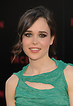 "HOLLYWOOD, CA. - July 13: Ellen Page arrives to the ""Inception"" Los Angeles Premiere at Grauman's Chinese Theatre on July 13, 2010 in Hollywood, California."