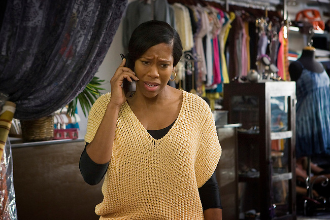 Regina King as Ellie, another cancer patient, pleads with Dr. Slamon's clinic to allow her to become a part of the Herceptin test group in Lifetime Television's 'Living Proof' - the inspiring true story of Dr. Dennis Slamon, a doctor who devoted his life to finding a treatment for breast cancer.