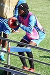 Getafe's Allan Nyom during training session. February 19,2020.(ALTERPHOTOS/Acero)