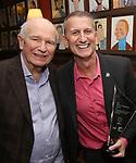Terrence McNally and Tom Kirdahy during the Robert Whitehead Award Ceremony honoring Tom Kirdahy at Sardi's on 5/22/2019 in New York City.