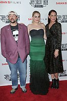 "LOS ANGELES - OCT 15:   Kevin Smith, Harley Quinn Smith, Jennifer Schwalbach Smith at the ""Jay & Silent Bob Reboot"" Los Angeles Premiere at the TCL Chinese Theater on October 15, 2019 in Los Angeles, CA"