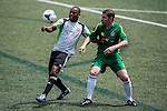 United Services Recreation Club vs Wallsend Boys Club during the Day 3 of the HKFC Citibank Soccer Sevens 2014 on May 25, 2014 at the Hong Kong Football Club in Hong Kong, China. Photo by Victor Fraile / Power Sport Images