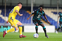 Nathan Dyer of Swansea City in action during the pre-season friendly match between Bristol Rovers and Swansea City at The Memorial Stadium in Bristol, England, UK. Tuesday, 23 July 2019