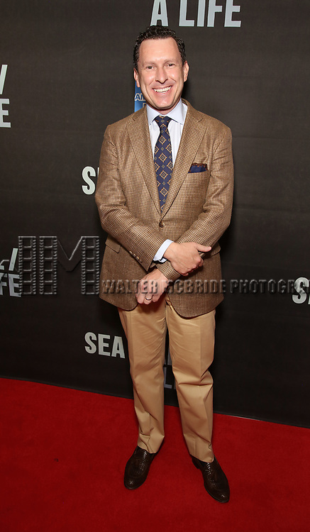"""Jacob Langfelder attends the Broadway Opening Night performance of """"Sea Wall / A Life"""" at the Hudson Theatre on August 08, 2019 in New York City."""