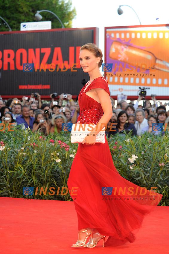 .Venezia / Venice 1/9/2010 67ma Mostra del Cinema.Red Carpet Serata Inaugurale.Foto Stefano Micozzi/Insidefoto