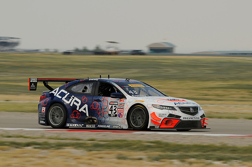 21-23 August, 2015, Tooele, Utah, USA<br /> #43 Ryan Eversley, Acura TLX-GT<br /> © 2015, Jay Bonvouloir, ESCP