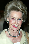 Dina Merrill attending the Sixty-Ninth Annual Drama League Awards Luncheon at the Grand Hyatt Hotel in<br />