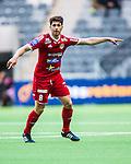 Stockholm 2014-05-04 Fotboll Superettan Hammarby IF - IFK V&auml;rnamo :  <br /> V&auml;rnamos Carlos Gaete Moggia gestikulerar<br /> (Foto: Kenta J&ouml;nsson) Nyckelord:  Superettan Tele2 Arena Hammarby HIF Bajen V&auml;rnamo portr&auml;tt portrait