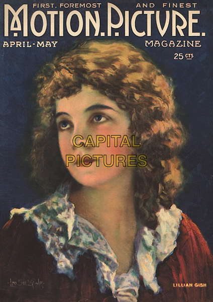Lillian Gish, Magazine Cover.*Filmstill - Editorial Use Only*.CAP/PLF.Supplied by Capital Pictures.
