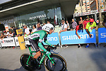 Antonio Molina Canet (ESP) Caja Rural-Seguros RGA during Stage 1 of the La Vuelta 2018, an individual time trial of 8km running around Malaga city centre, Spain. 25th August 2018.<br /> Picture: Ann Clarke | Cyclefile<br /> <br /> <br /> All photos usage must carry mandatory copyright credit (© Cyclefile | Ann Clarke)