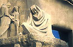 Statues, Barcelona Cathedral, Barcelona, Spain