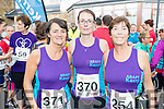 Siobhan Coffey, Emma O'Mahony and Fiona Griffin, all from Tralee) who ran the Rose of Tralee 10k on Sunday morning last in aid of Adapt.