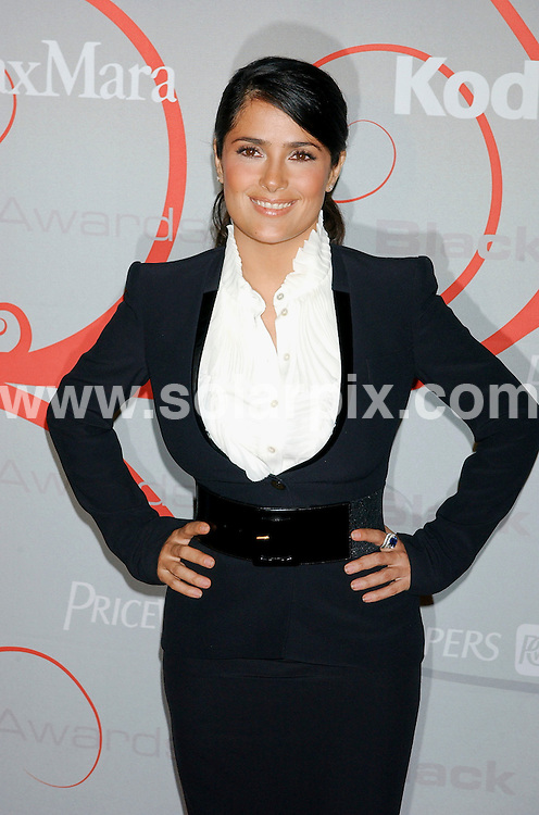**ALL ROUND PICTURES FROM SOLARPIX.COM**.**SYNDICATION RIGHTS FOR UK, SPAIN, PORTUGAL, AUSTRALIA, S.AFRICA & DUBAI (U.A.E) ONLY**.arrivals for the 2008 Women In Film Crystal + Lucy Awards held at the Beverly Hilton Hotel, Beverly Hills, CA, USA. 17th June 2008..This pic: Salma Hayek..JOB REF: 6696 PHZ /GL    DATE: 17_06_2008.**MUST CREDIT SOLARPIX.COM OR DOUBLE FEE WILL BE CHARGED* *UNDER NO CIRCUMSTANCES IS THIS IMAGE TO BE REPRODUCED FOR ANY ONLINE EDITION WITHOUT PRIOR PERMISSION*