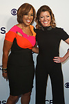 Gayle King (left) and Nora O'Donnell arrive at the CBS Upfront at The Plaza Hotel in New York City on May 17, 2017.