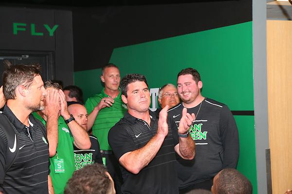 University of North Texas Mean Green Football v UTSA Road Runners on October 14th, 2017 at Apogee Stadium in Denton, Texas. (Rick Yeatts)