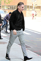 NEW YORK, NY - MAY 15: Ethan Hawke spotted leaving 'Build Series'  in New York, New York on May 15, 2018.   <br /> CAP/MPI/RMP<br /> &copy;RMP/MPI/Capital Pictures