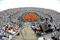 BUENOS AIRES, ARGENTINA, 15 SETEMBRO 2012 - COPA DAVIS -  ARGENTINA X REPUBLICA CHEGA - Os tenistas tchecos Tomas Berdych e Radek Stepanek durante partida contra os argentinos Eduardo Schwank e Carlos Berlocq pela Copa Davis em Buenos Aires, na Argentina, neste sabado, 15. (FOTO: JUANI RONCORONI / BRAZIL PHOTO PRESS).