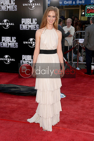 Sabrina Morris<br />at the Los Angeles Premiere of 'Public Enemies'. Mann Village, Westwood, CA. 06-23-09<br />Dave Edwards/DailyCeleb.com 818-249-4998