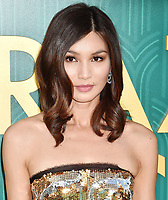 HOLLYWOOD, CA - AUGUST 07: Gemma Chan arrives at the Warner Bros. Pictures' 'Crazy Rich Asians' premiere at the TCL Chinese Theatre IMAX on August 7, 2018 in Hollywood, California.<br /> CAP/ROT/TM<br /> &copy;TM/ROT/Capital Pictures