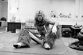 VAN HALEN, BACKSTAGE,1980, NEIL ZLOZOWER