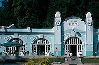 Slowenien. Rogaska Slatina, Café Tempel
