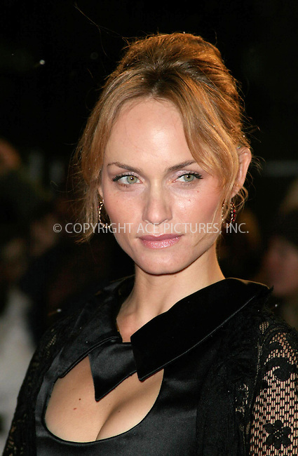 WWW.ACEPIXS.COM . . . . .  ... . . . . US SALES ONLY . . . . .....LONDON, FEBRUARY 22, 2005....Amber Valetta at the UK premiere of Hitch held at Odeon Leicester Square.....Please byline: FAMOUS-ACE PICTURES-F. DUVAL... . . . .  ....Ace Pictures, Inc:  ..Philip Vaughan (646) 769-0430..e-mail: info@acepixs.com..web: http://www.acepixs.com
