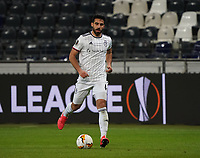 Eray Cömert (FC Basel) - 12.03.2020: Eintracht Frankfurt vs. FC Basel, UEFA Europa League, Achtelfinale, Commerzbank Arena<br /> DISCLAIMER: DFL regulations prohibit any use of photographs as image sequences and/or quasi-video.