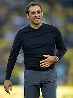 FUSSBALL  1. BUNDESLIGA  SAISON 2013/2014   3. SPIELTAG Borussia Dortmund - Werder Bremen                  23.08.2013 Trainer Robin Dutt (SV Werder Bremen)