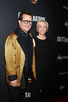 """LOS ANGELES - NOV 4:  Bruce Cormicle, Betsy Beers at the """"Grey's Anatomy"""" 300th Episode Event at Tao on November 4, 2017 in Los Angeles, CA"""