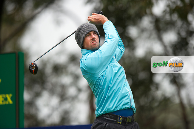 Peter Karmis (GRE) during the second day of the World cup of Golf, The Metropolitan Golf Club, The Metropolitan Golf Club, Victoria, Australia. 23/11/2018<br /> Picture: Golffile | Anthony Powter<br /> <br /> <br /> All photo usage must carry mandatory copyright credit (© Golffile | Anthony Powter)