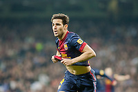 Goal and celebration of Fabregas