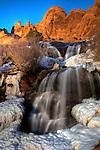 Waterfall near Moab