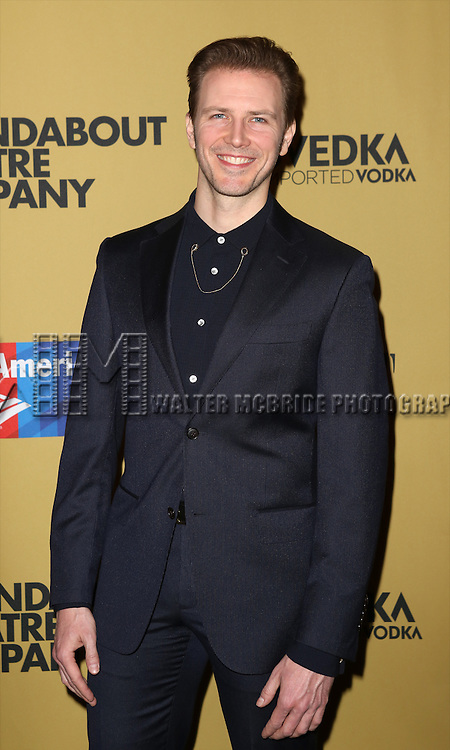 Bill Heck attending the Broadway Opening Night After Party for 'Cabaret' at Studio 54 on April 24, 2014 in New York City.