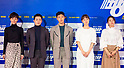 """Press preview of new South Korean movie """"Hit-and-Run Squad"""" in Seoul"""