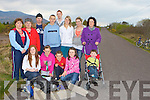 Caragh lake residents who are disgusted with the rubbish which is being dumped in their area front Kian Griffin, front row l-r: Courtney Griffin, Lisa Clifford, Jack Clifford, Roisin O'Hara, Cian O'Hara. Back row: Anne Griffin, Kathleen Foley, Michael Stack, Aaron Clifford, Amanda Long, Cara Murphy, Ester O'Hara