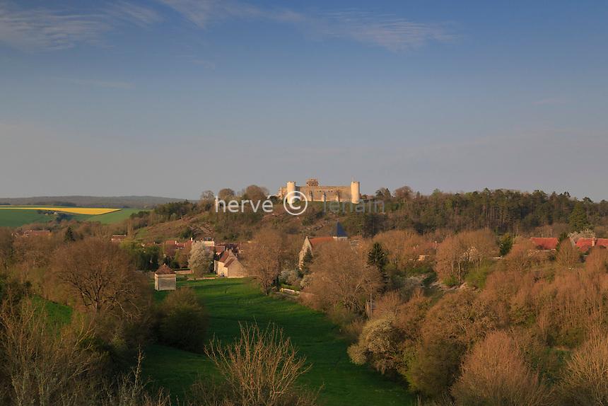 France, la Puisaye, Yonne (89), Druyes-les-Belles-Fontaines // France, the Puisaye, Yonne, Druyes-les-Belles-Fontaines