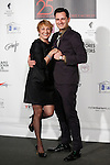 Blanca Portillo and Asier Etxeandia attend the `Union de actores Awards´ ceremony in Madrid, Spain. March 14, 2016. (ALTERPHOTOS/Victor Blanco)