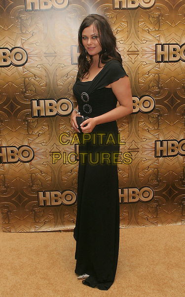 POLLY WALKER.HBO Golden Globe Party After Party held at the Aqua Star Pool in the Beverly Hilton Hotel, Beverly Hills, California. .January 16th, 2006.Photo: Zach Lipp/AdMedia/Capital Pictures.Ref: ZL/ADM.full length black dress .www.capitalpictures.com.sales@capitalpictures.com.© Capital Pictures.